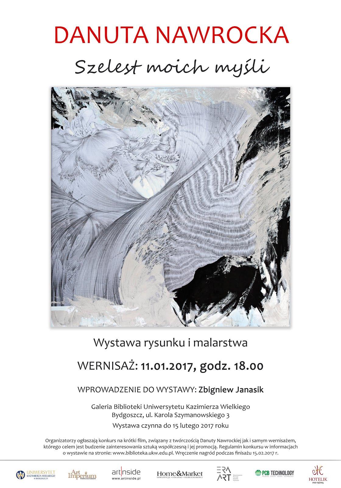 Zapraszamy do zwiedzania wystawy Danuty Nawrockiej
