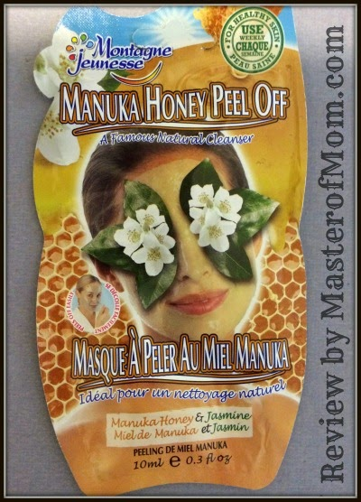 Montagne Jeunesse Manuka Honey Peel Off Mask Review