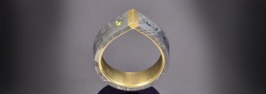 creature of design Design Gem Jacob Albee Meteorite Collection