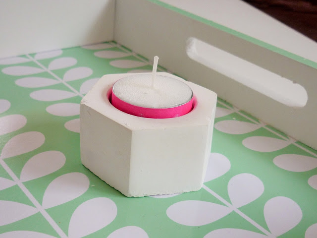 Do it yourself - customiser une bougie avec du masking tape - decoration