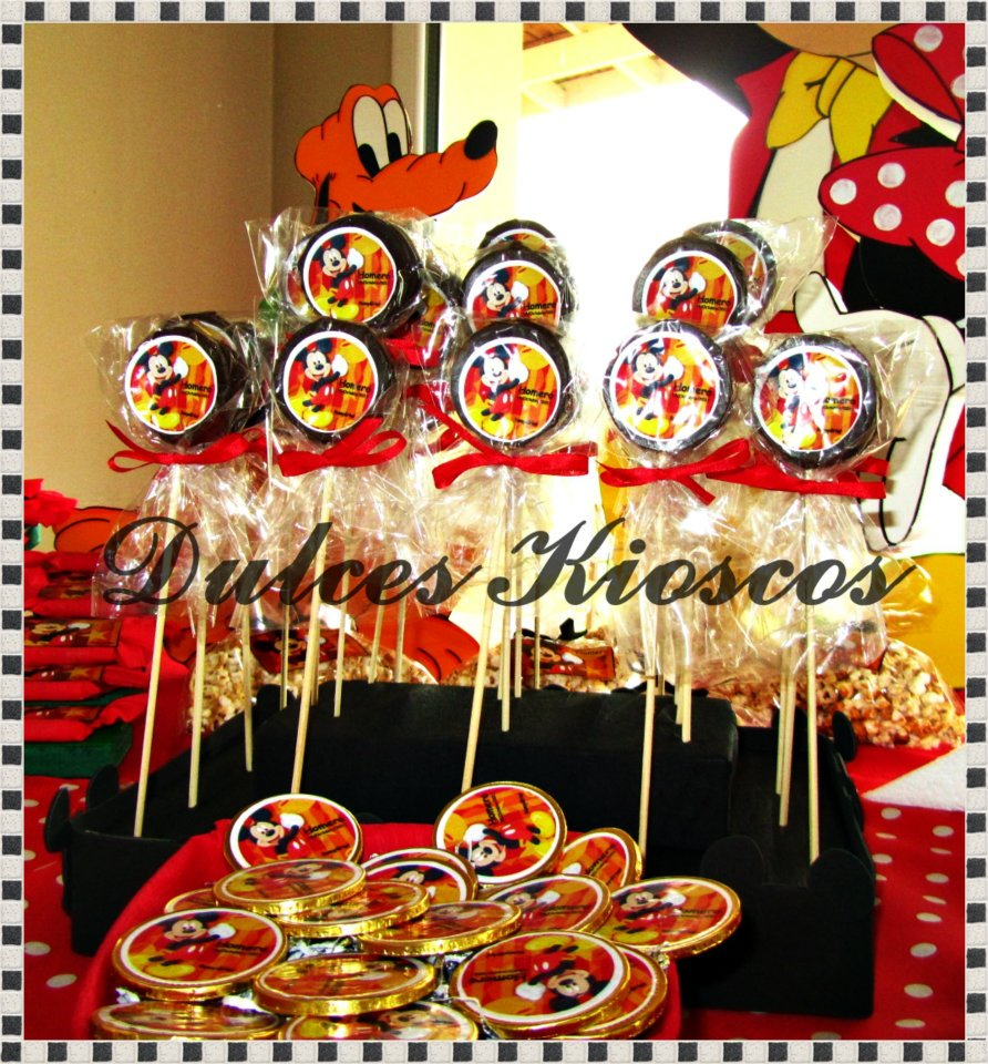 Decoracion Kiosco Golosinas ~ Dulces Kioscos para Fiestas   Cumplea?os tematico de Mickey Mouse