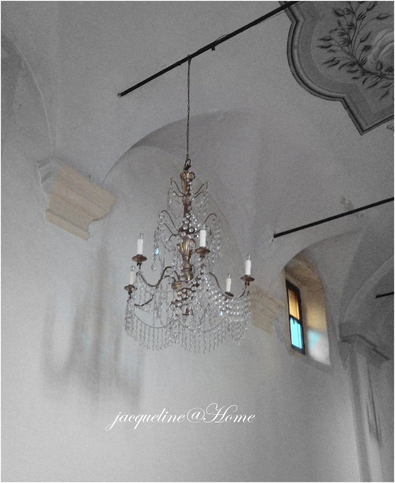 Found This Chandelier In A Tiny Church High Up The Cinque Terre