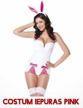 Costum Iepuras Pink