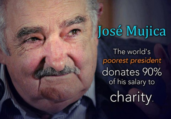 The World's 'Poorest' President May also be the Richest: Meet José Mujica