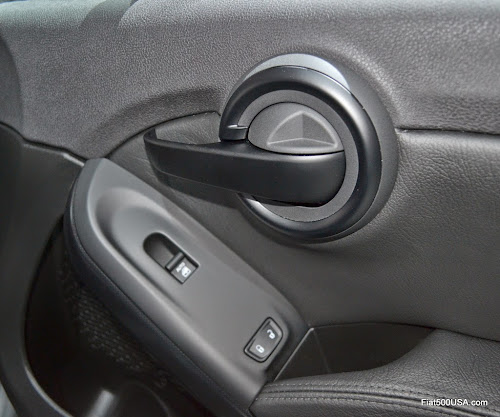 Fiat 500X Inside Door Lock - Open