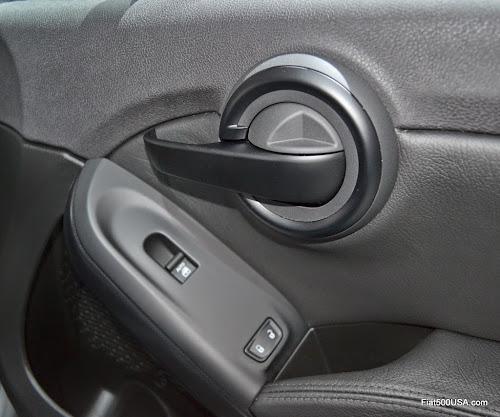 Fiat 500X Inside Door Lock - Open