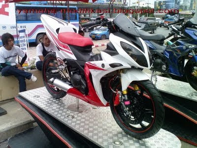 "Modifikasi New Jupiter MX ""Merdeka"""