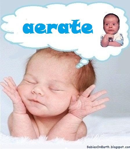 aerate