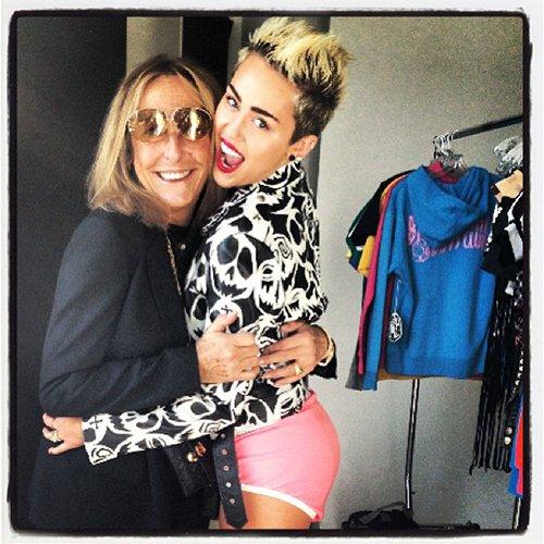 Bragas rojas Miley Cyrus