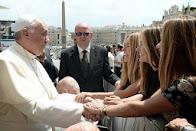 Trillizas de oro y el Papa Francisco