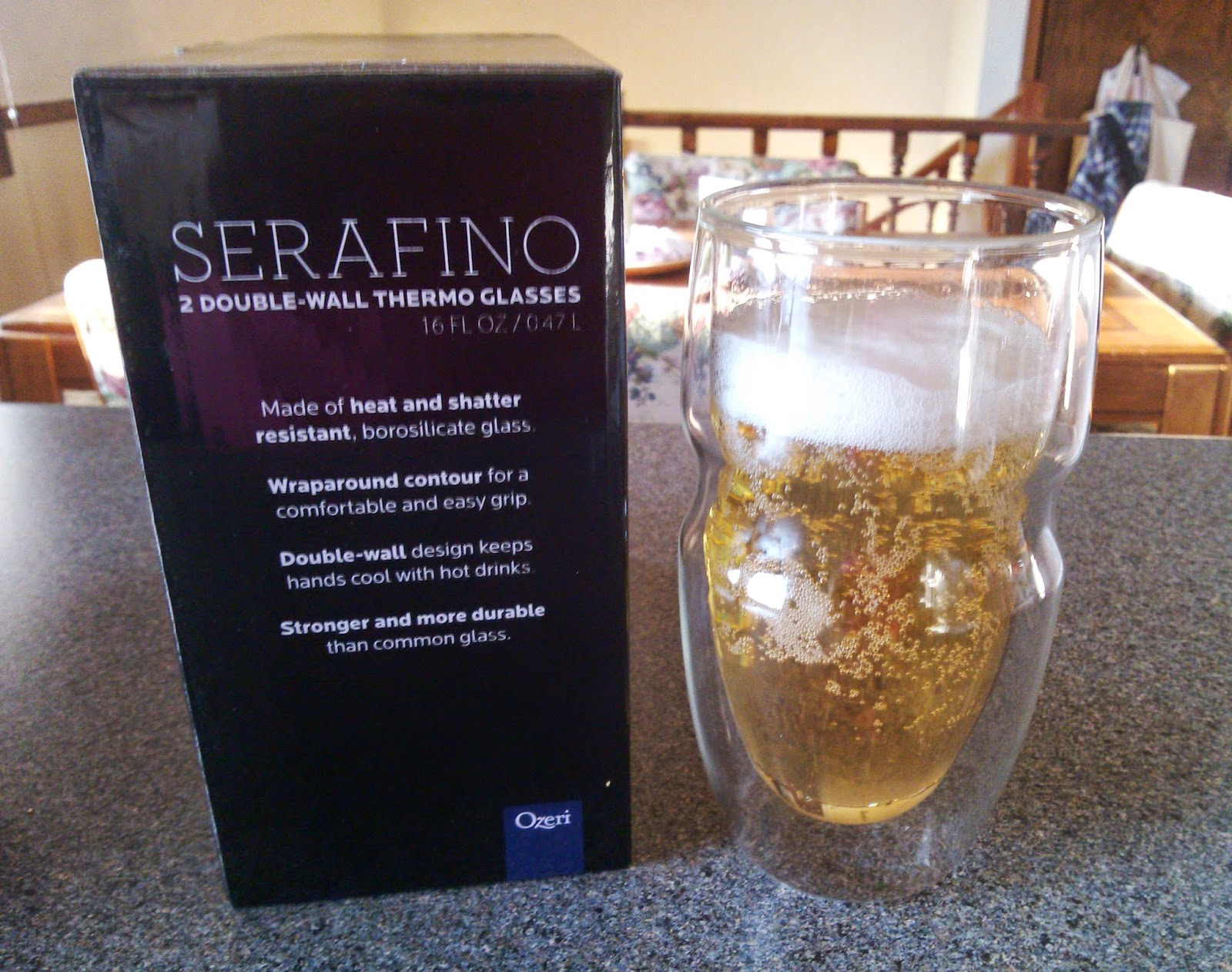 Ozeri Serafino Double Wall Insulated Drinking Glasses Review