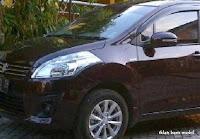 Dijual - Suzuki ertiga GL Burgundy Red 2013, iklan baris mobil gratis