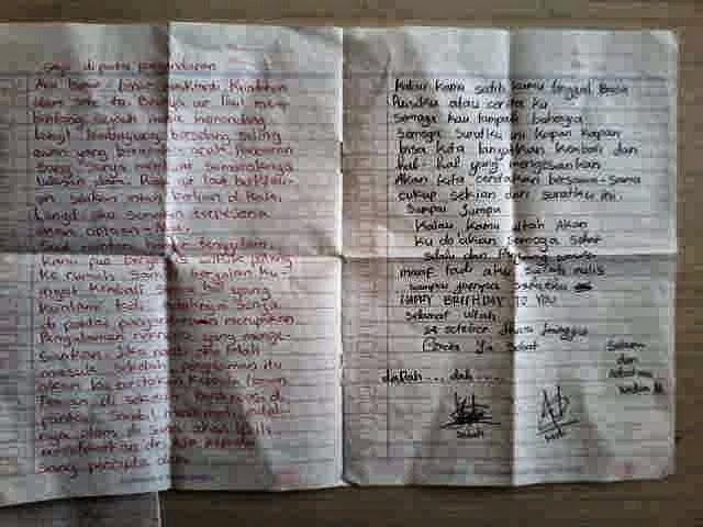 Surat untuk Sahabar di Tahun 2004