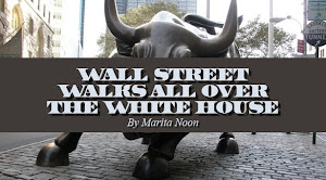 Wall Street Walks on the White House