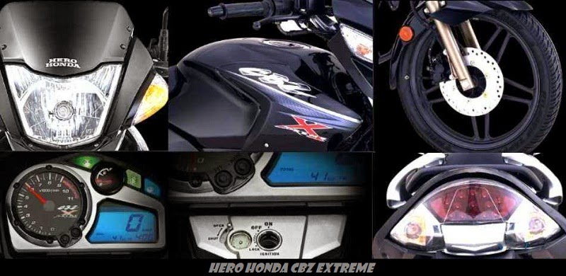 Hero Honda CBZ Xtreme accessories