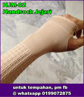 Handsock Jejari Cotton Emboss