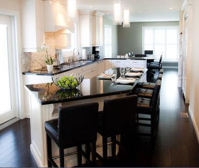 Dise os de cocinas cortinas para cocinas modernas - Cocinas de famosos ...