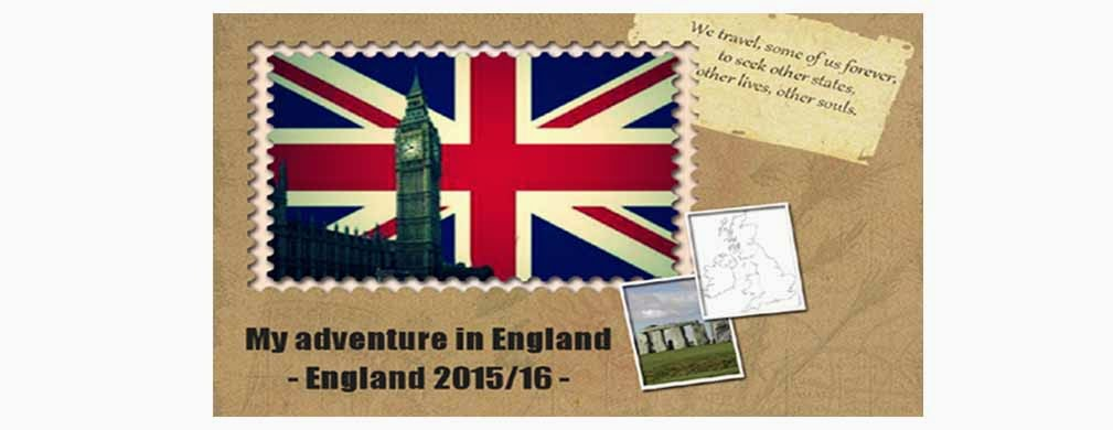 My adventure in England 2015/16