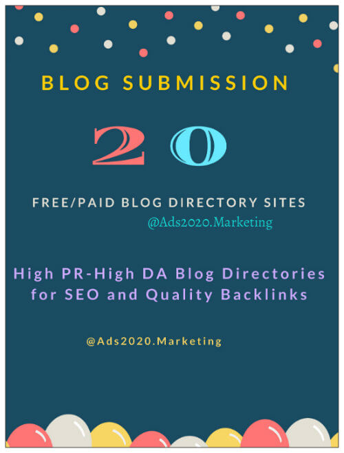 verified blog directories free listing