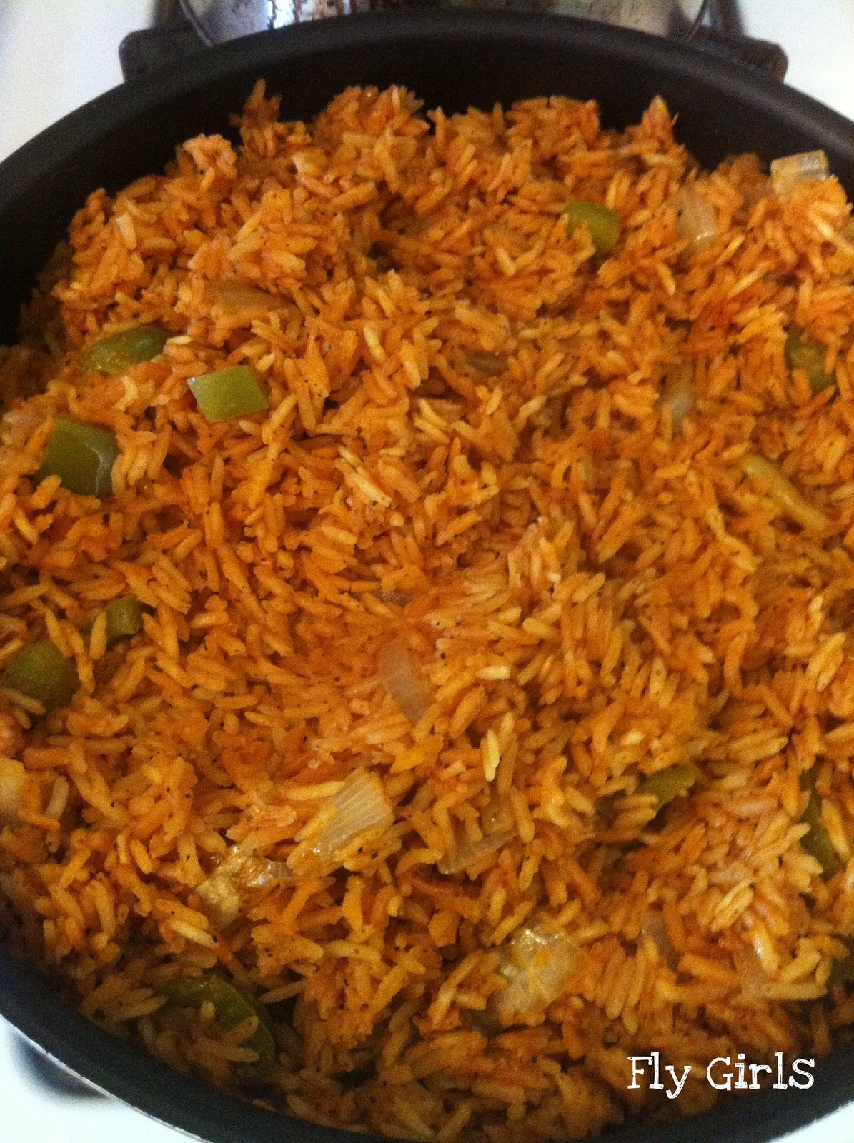 Fly Girls: Karin's Spanish Rice