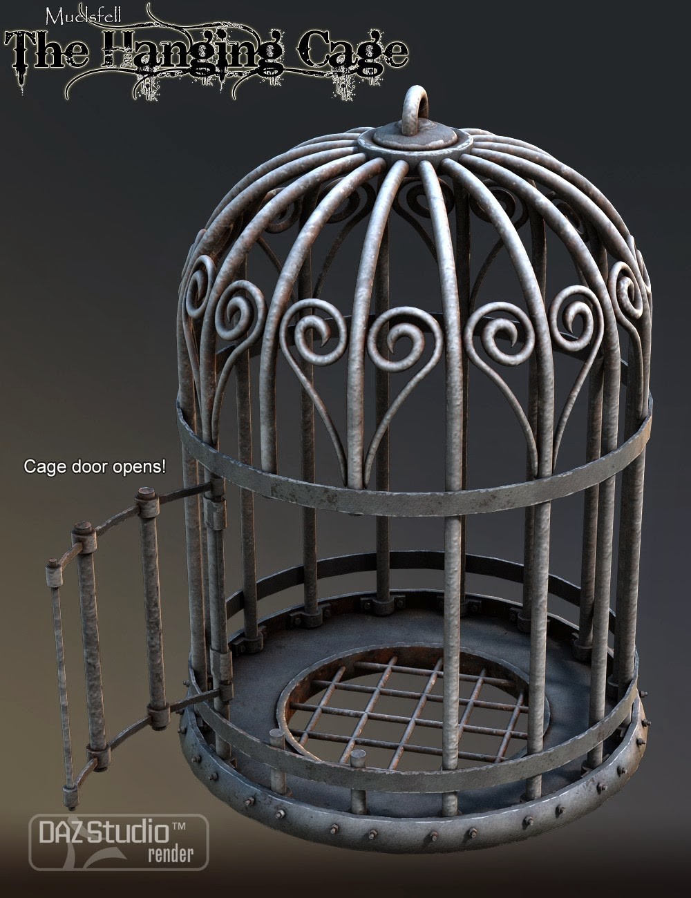 Muelsfell Cage Hanging
