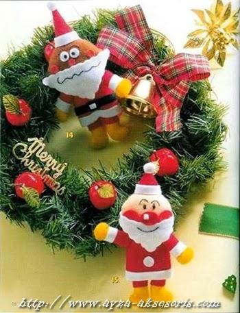 Ayza punya ebook pembuatan Boneka Natal iniyukk yang berminat