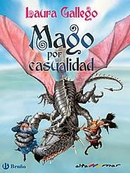 """Portada del libro """"Mago por casualidad"""", de Laura Gallego"""