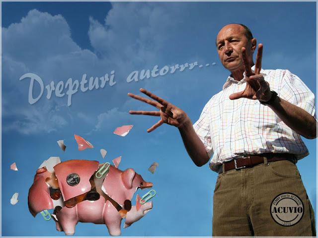 Funny photo Traian Basescu Drepturi autor