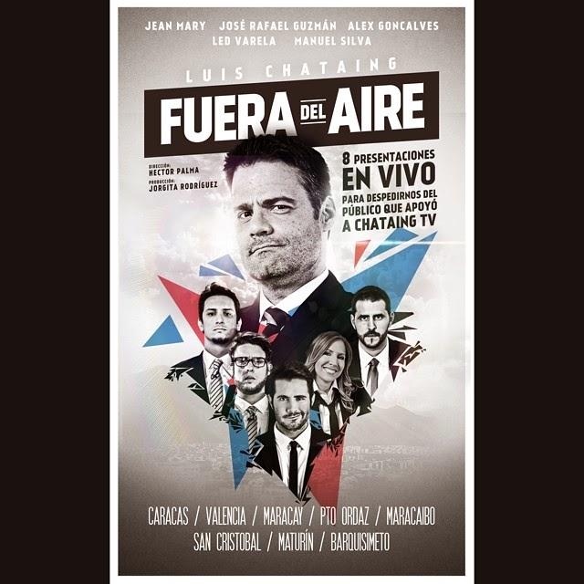 """""""Fuera del Aire"""" - Afiche"""