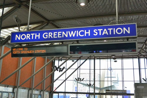 North Greenwich Station, London