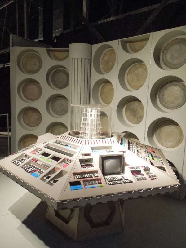 Doctor Who 5th 6th 7th TARDIS control room