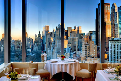 Restaurante Asiate - Nova York