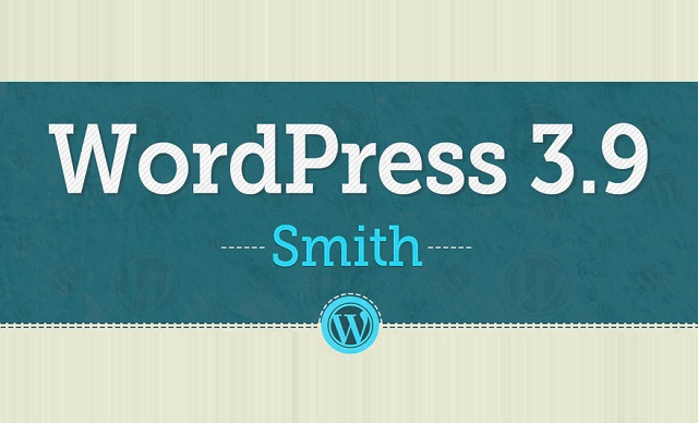Image: WordPress 3.9 Smith