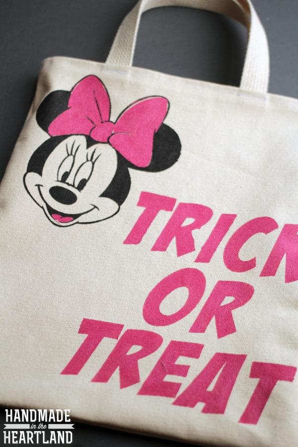 minnie mouse costume diy trick or treat bag - Doc Mcstuffins Halloween Bag
