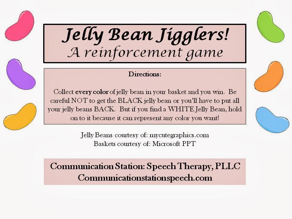 Speechie Freebies: Jelly Bean Jigglers!