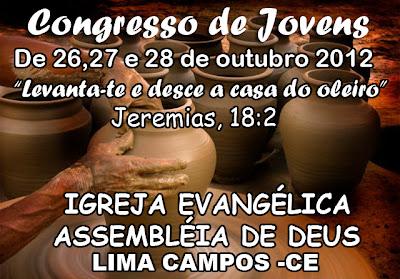 CONGRESSO DE JOVENS DA IGREJA ASSEMBLEIA DE DEUS DE LIMA CAMPOS