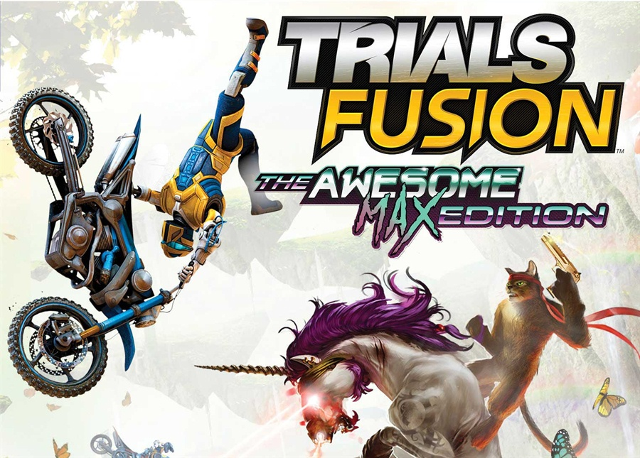 Trials Fusion The Awesome MAX Edition Poster