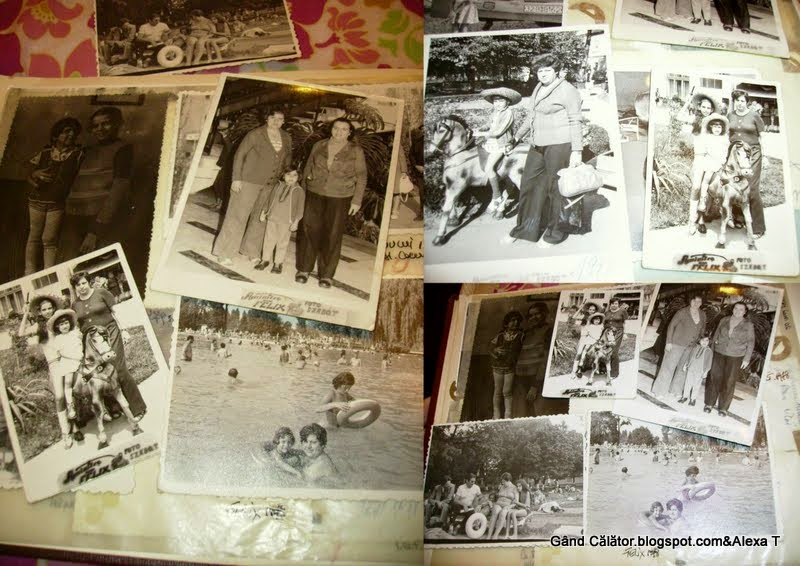 A collage with a mix of photos from Băile Felix... remembrances from the holiday travels made between the '78 - '90 till to 2014, in our recent days..