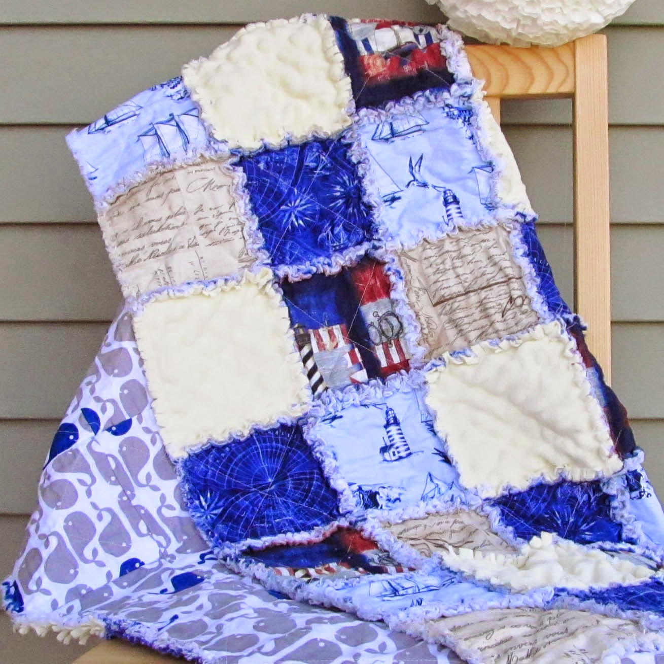 Rag Quilt Tutorial Muslin And Merlot