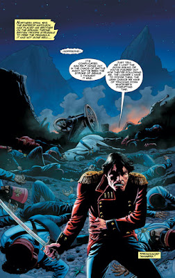 Interior of The Rook #1, Courtesy of Dark Horse Comics
