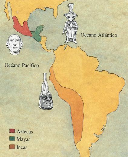 Inca, Maya y Azteca