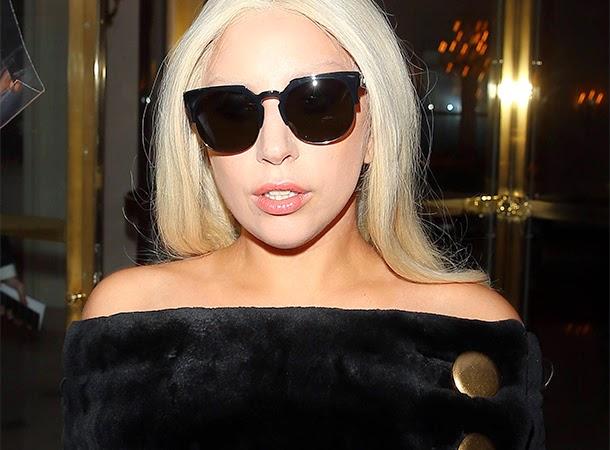 Lady Gaga Paris March 5 2015