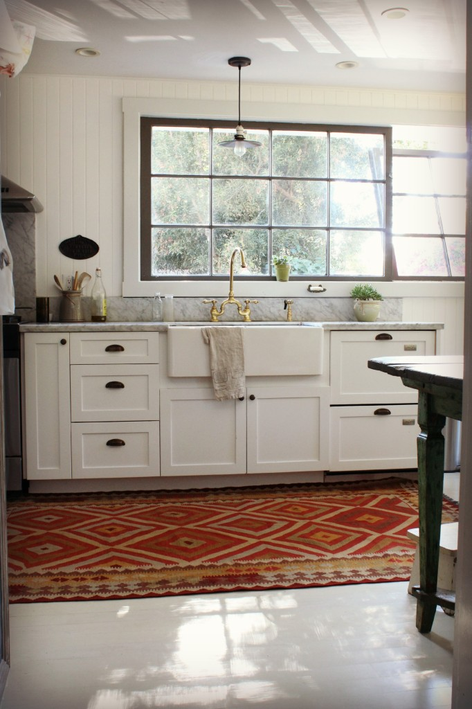February-March Review {2015} Kitchen Kilims