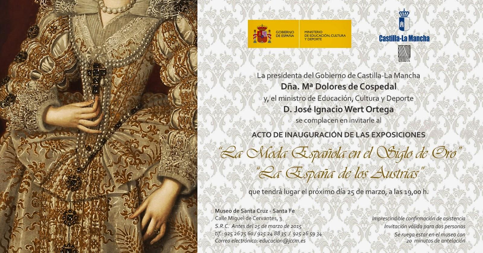 Museo de Santa Cruz Invitación