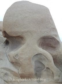 Skull Rock at Joshua Tree National Park