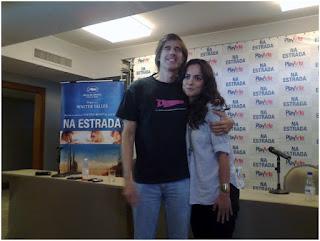 """Walter Salles e Alice Braga falam sobre """"Na Estrada"""""""