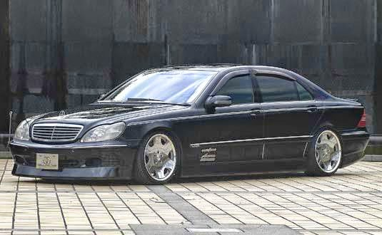 mercedes benz w220 s600 glanz bodykit benztuning. Black Bedroom Furniture Sets. Home Design Ideas