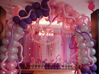 Acara dekor balon di jakarta pusat sewa badut dan sulap for Dekor ulang tahun