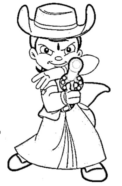 chota bheem team coloring pages - photo#10