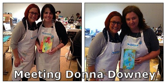 Mixed media Academy class with Donna Downey